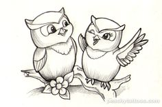 Cute Owl Tattoo Designs | ... Tattoos - Tattoos I Wanna Do - Peachy-cute-owl-tattoo-design