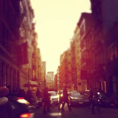 Soho, New York...i will live here one day <3