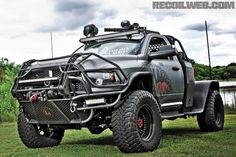 Love the brush guard  Spikes-Tactical-Truck-Rear