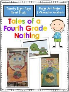 Tales of a Fourth Grade Nothing {Novel Study & Art Project}