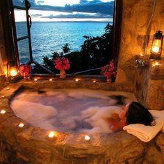 Stunning Bathroom view, Capri, Italy