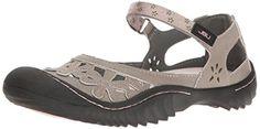 Jambu Jsport Womens Peony Cement Synthetic Casual Shoe  95 BM US <3 Click the image for detailed description