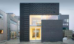 Brick pattern gradient