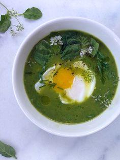 Broccoli Spinach Soup Recipe