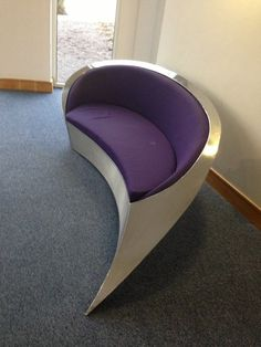 Stainless Steel Sofa,purple,unusual,modern,playroom,livingroom,reception,
