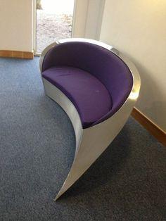 Stainless Steel Sofa,purple,unusual,modern,playroom,livingroom,reception,