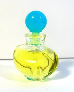 Vintage 1980s Wings Giorgio Beverly Hills 0.13 oz Parfum Splash Miniature Perfume Bottle