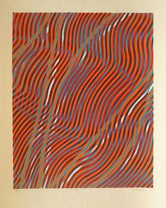 Stanley Hayter print: Scorpio 1968