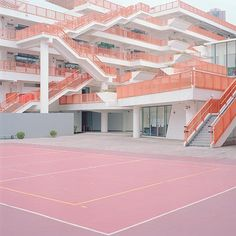 """""""court 14 - hong kong 2012"""" Archival inkjet print by New York based photographer Ward Roberts. Part of his courts series. #UpriseArt"""