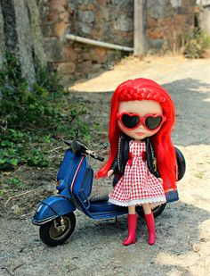 My blythe and me: I ♥ my vespa
