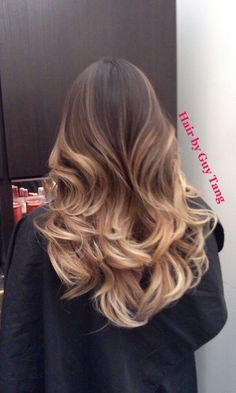 High contrast balayage ombre by Guy Tang | Yelp