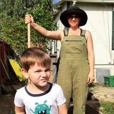 5 pieces of clothing every urban farm woman needs. Durable overalls are super comfy and let you garden without worrying about farmer's crack. Farm Women, Hobby Farms, Urban Farming, Piece Of Clothing, Overalls, Backyard, Comfy, Dandelion, Advice