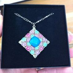 I just discovered this while shopping on Poshmark: New Anne Koplik Flower necklace - never worn. Check it out!  Size: OS