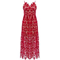 Trendy Spaghetti Strap Sleeveless Pure Color Knee Length Lace Slip... ($27) ❤ liked on Polyvore featuring dresses, lace dress, knee high dresses, red dress, lace slip dress and knee length slip dress