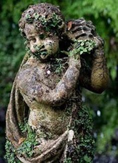 A statue in Monte Palace Tropical Garden, Funchal, Madeira.  It was photographed by Stephan Lindholm
