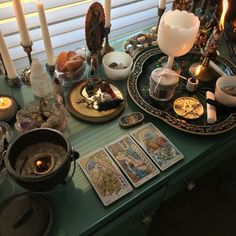 Instead of the clutter have drawers like I described in chapter but I like the vibe of this altar. Wiccan Decor, Wiccan Altar, Witch Cottage, Witch House, Witch Alter, Witch Room, Suncatcher, Cabin In The Woods, Altar Decorations