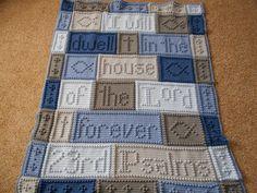 Ravelry: 23RD PSALMS blanket pattern by Jody Pyott