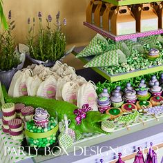 party box design photo gallery