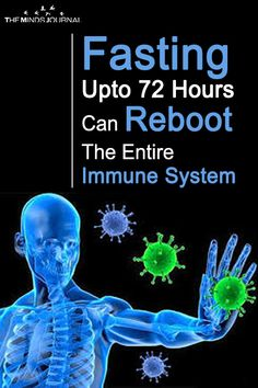 Did you get your reboot kit yet? It's everything you need to rebuild your immune system and reset your metabolism. New Study Reveals Fasting Upto 72 Hours Can Reboot The Entire Immune System Daily Health Tips, Health And Fitness Tips, Health Advice, Health And Wellness, Health Care, Health Diet, Wellness Tips, Mental Health, Medical Problems