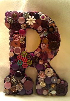 RESERVED for Jane  Custom Purple Button by allbuttonedupbytina, $35.00