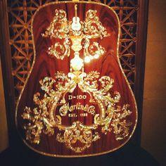 Martin D-100 acoustic guitar