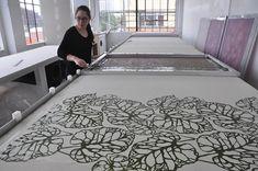 Textile Design Studio #serigrafia