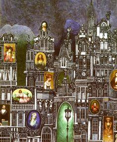 Albin Brunovsky ill. Pierre Auguste Renoir, Children's Book Illustration, Illustrations, Typography Prints, Love Design, Potpourri, Modern Art, Creepy, Animation