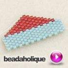 Video:Decreases in Flat Peyote Stitch  #Seed #Bead #Tutorials