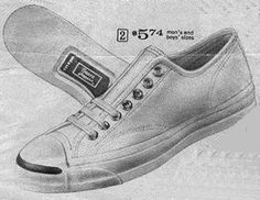 Jeepers that looked like JACK PURCELL sneakers