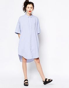 Monki+Shirt+Dress