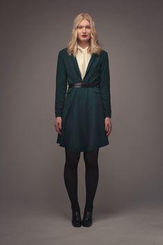 Dakota Shawl Collar Dress - Named