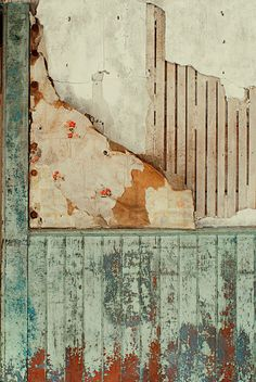 Baxter House - dining room by Heinrick Oldhauser Peeling Paint, Of Wallpaper, Peeling Wallpaper, Color Theory, Medium Art, Textures Patterns, Color Inspiration, Backdrops, Abstract Art
