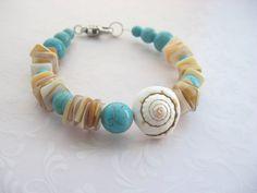 Armband+On+the+Beach+von+Blue+Moon+++auf+DaWanda.com