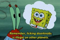 """And when he had some interplanetary legal advice. 