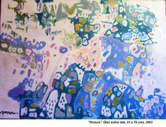 """""""Pintura"""" Óleo sobre tela 51 x 70 cms 2003"""