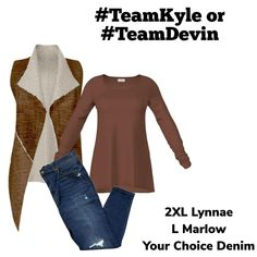 Kyle and Devin go head to head to pick out some of the best fashion outfits for you. Being comfortable and looking good is their mission. Who do you think picked out this outfit?