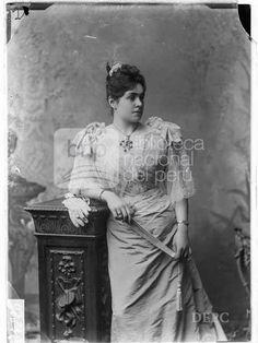 María Anderson, Fotografia de Eugenio Courret - Biblioteca Nacional del Perú
