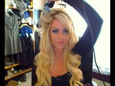 I love big and loose curls inspired by Jessica Simpson and Carrie Underwood.  Here is a how to!
