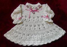 GORGEOUS GORGEOUS. DRESS CROCHET WHITE CHILDREN.I LOVED - Crochet Designs Free