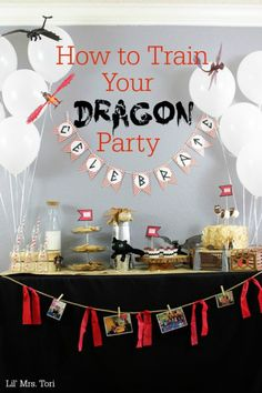 Hot To Train Your Dragon Party