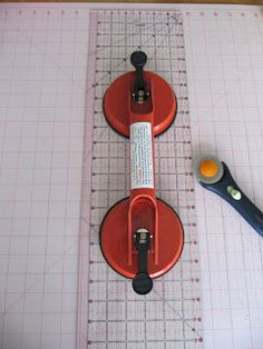 Sew Many Ways...: Tool Time Tuesday...Quilt Ruler Suction Handle