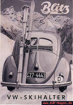 VW - 1951 - Blitz. VW Skihalter - [2729]-1
