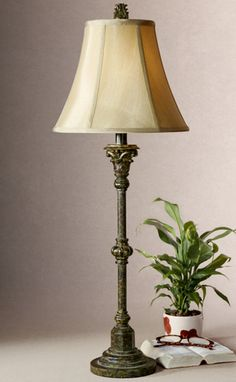 Tuscan Lamps, Tuscan Table Lamps, Tuscan Buffet Lamps. Uttermost 29261 Furrow, 2 PER BOX. Tuscan Lamp Retailer Since 1996. BellaSoleil.com Tuscan Decor.