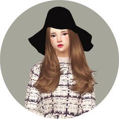 New Floppy Hat at Marigold via Sims 4 Updates