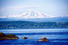 Baker from San Juan Islands San Juan Islands, Mount Rainier, Washington, Journey, Mountains, Nature, Travel, Naturaleza, Viajes