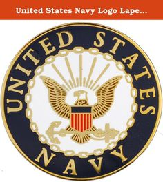 United States Navy Logo Lapel Pin Medal US Military Commemorative Collectibles, Patriotic Veteran Gifts. Dedicated to every soldier in the United States Navy and their families for protecting and serving our great nation. A true momento to wear or carry. A perfect gift for that special soldier in your life!.