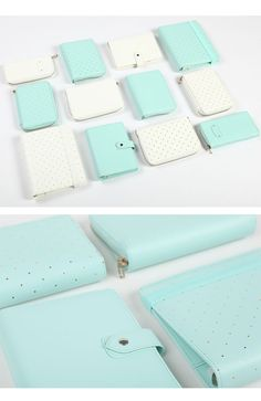 [dokibook] Mint / white A5/A6 pocket zipper bag series of a variety of selected books - SpreeNow.com, Taobao English agent that accepts PayPal