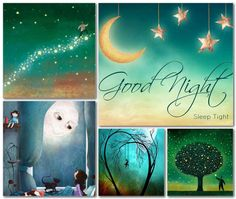 Good Night Blessings, Good Night Wishes, Good Night Sweet Dreams, Good Night Funny, Mix Photo, Color Collage, Beautiful Collage, Good Morning Greetings, Photomontage