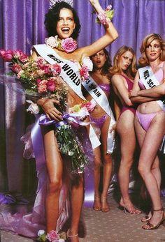 """Pool Parade"", Vogue US, 1999Photographer: Ellen von UnwerthModel: Adriana Lima"