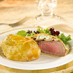 Pepperidge Farm® Puff Pastry - Recipe Detail - Mini Beef Wellingtons with Mushrooms & Gorgonzola